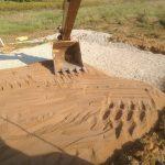 Excavation sable