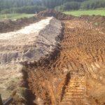 Terrain excavation