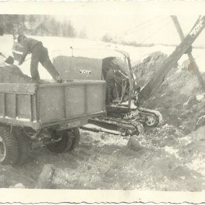 Debien excavation histoire